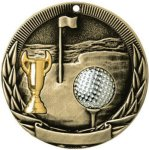 Tri-Colored Series Medals -Golf Golf Awards